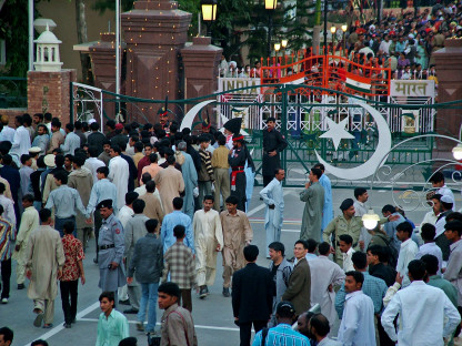 India-Pakistan - Wagah border ceremony