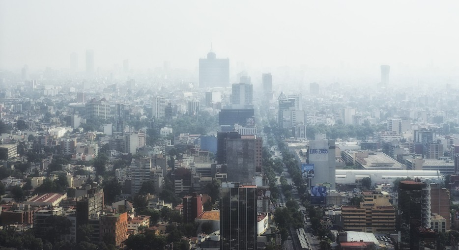 Air pollution, Mexico City