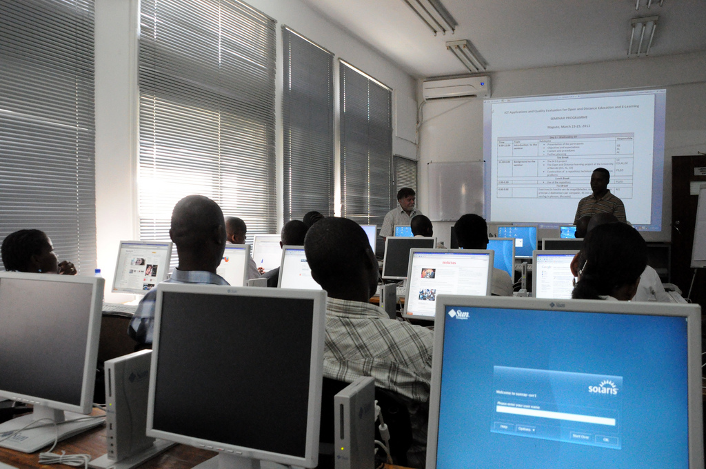 Training workshop in Maputo, Mozambique